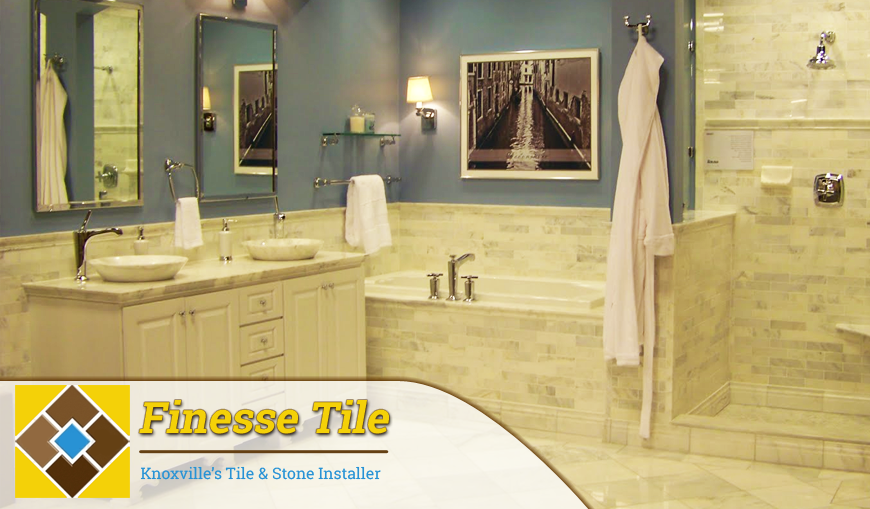 When It Comes To Bathroom Tiling And Custom Stone Work In Knoxville There Is No One Better Than Finesse Tile Our Forte Specialty